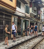 Hanoi Train Track Cafe