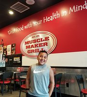 ‪Muscle maker grill‬