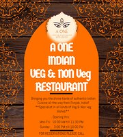 A ONE Indian Vegetarian & Vegan Restaurant