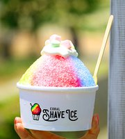Coral Shave Ice
