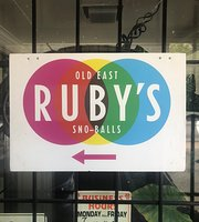 Ruby's Sno-balls