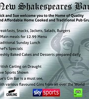 New Shakespeare's Bar