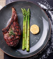 Beef. Meat & Wine