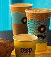 Costa pan y café