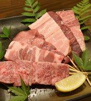 牛本家岡田屋 嵐山和牛串焼き