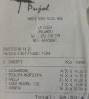 "Restaurant Pujol-Bar ""Xiringuito"""