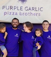 Purple Garlic Pizza Brothers