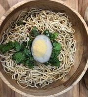 Hibiscus Tea & Dry Noodles
