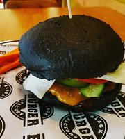 Black burger factory