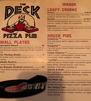 The Deck Pizza Pub