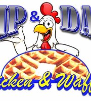 Dip & Dab Chicken & Waffles