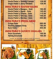Uncle Pablo's Grill Experience