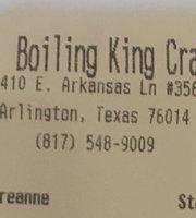 Boiling King Crab