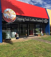 Sipping Duck Coffee Roasters