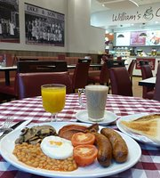 William's Cafe at Dike & Son Ltd
