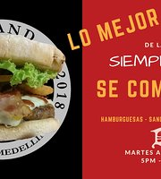 Brand Burger Medellin