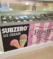 Romies ice cream parlour