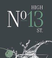No 13 High Street