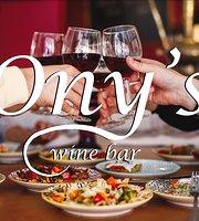 Ony's Wine Bar