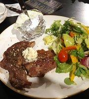 Oregano burger & steak