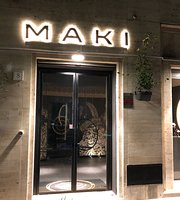 Maki contemporary sushi