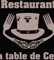 A la Table de Ced