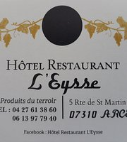 Hotel Restaurant L'Eysse