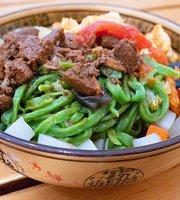 Zhangji Jiaxiang Spinach Noodles