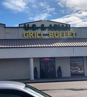US & Asian Grill Buffet