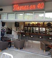Flames on 40 Restaurant Bar