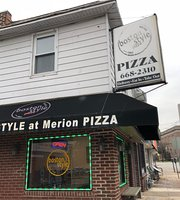 Boston Style At Merion Pizza
