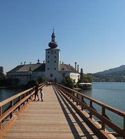Schloss Ort Ort Castle On Traunsee Lake Traun Gmunden