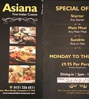 Asiana Indian Cuisine