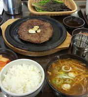 Deoksan Famous House Genuine Cow Rice Soup