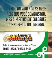 Restaurante E Pizzaria Alianca