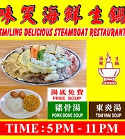 Smiling Delicious Steamboat Restaurant