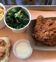 Boxcar Fried Chicken and Biscuits