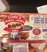 Fiore Shake, Steak and Sides