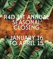 Room 4 Dessert - in Seasonal Closing -