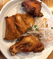 Fried Young Chicken Halves Fujita