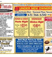 Sundried Tomato Cafe & Pizzeria