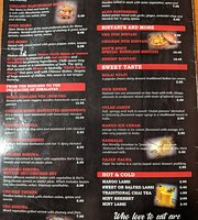 hot and spicy Indian restaurant