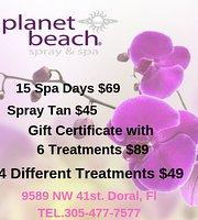 planet beach spray tan