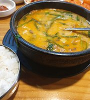 Busan Middle-Aged Woman Rice Soup