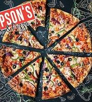 Thompson's burger & pizza