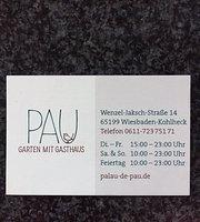 Pau - Garten mit Gasthaus