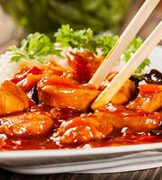 Chinese Restaurant written in Chinese