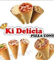 Ki delicia pizza cone