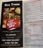 Box Trees Indian Takeaway