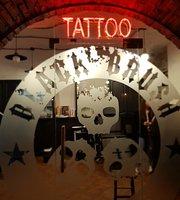 Black Brush Tattoo Bar